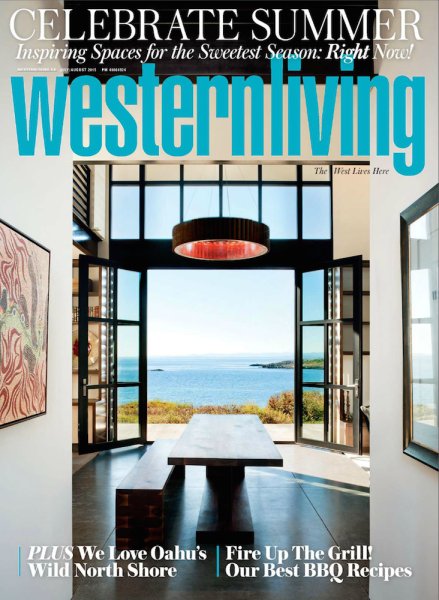 Western Living (July/August 2015) Cover