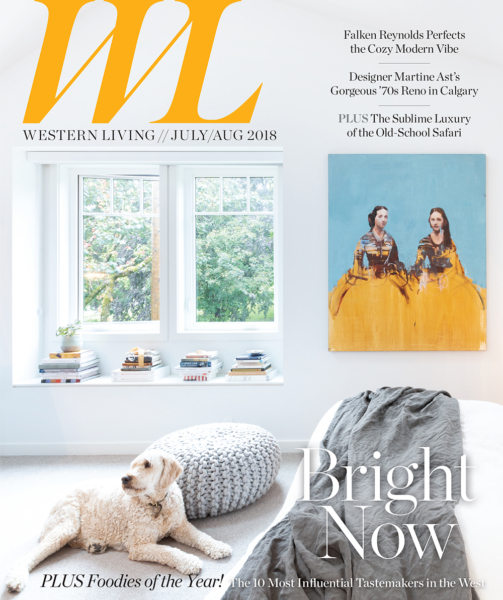 Western Living Magazine August 2017 Cover